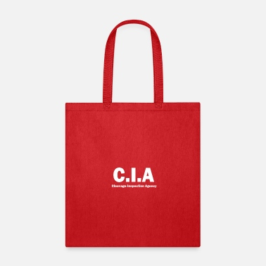 Cleavage Cleavage Inspection Agency Funny CIA Parody - Tote Bag
