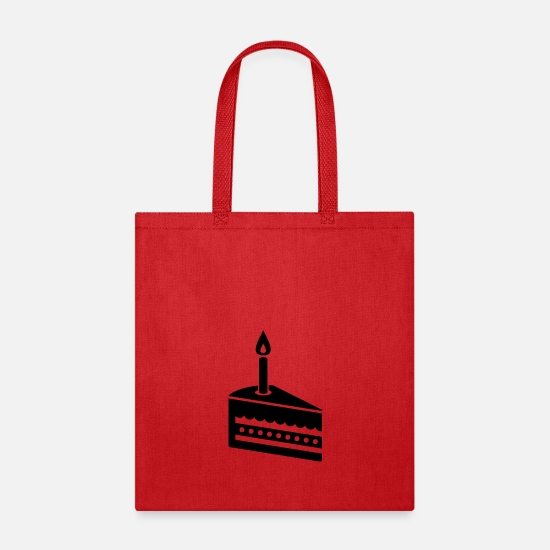 Cake Bags & Backpacks - Cake - Tote Bag red