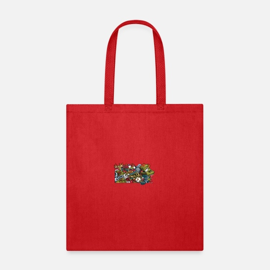 Game Bags & Backpacks - Heroes - Tote Bag red