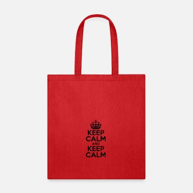 Keep Calm KEEP CALM AND KEEP CALM - Tote Bag