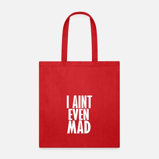 Madonna Bags & Backpacks - i aint mad - Tote Bag red