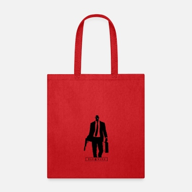 Hitman Man at work : HITMAN - Tote Bag