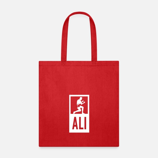 Ali Bags & backpacks - Muhammad Ali - Tote Bag red