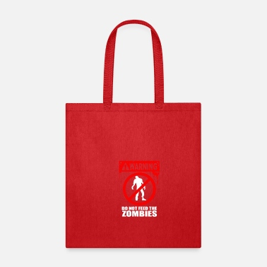 Vintage Zombie Do Not Feed - Tote Bag
