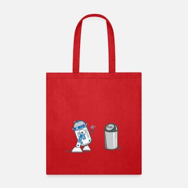 Love Collection robot_crush_spreadshirt - Tote Bag