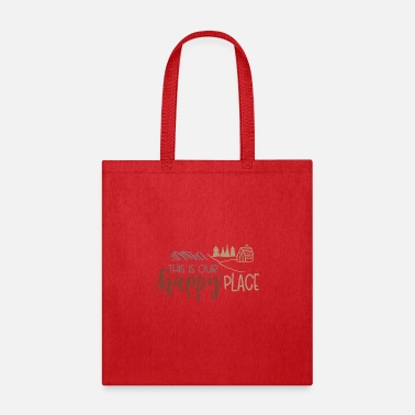 Rain This is our happy place - Tote Bag