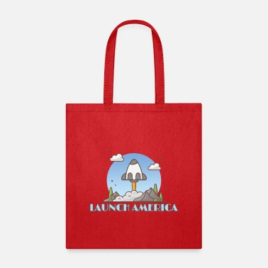 America Launch America - Tote Bag
