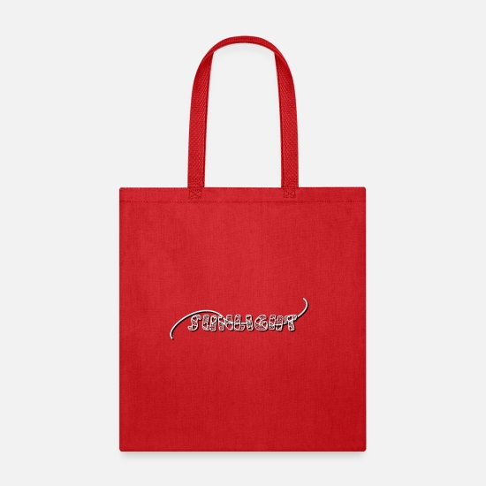 Valentine's Day Bags & Backpacks - valentine's Day | sunlight - Tote Bag red