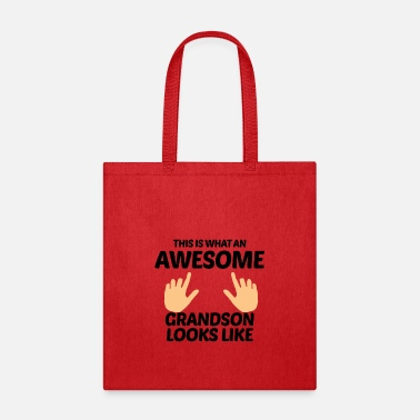 Grandson Awesome Grandson - Tote Bag