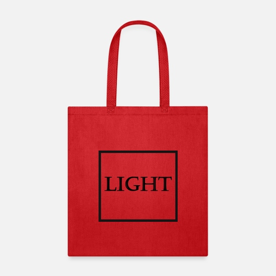 Lightning Bags & Backpacks - Light Fabric - Tote Bag red