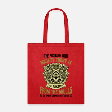 Scandinavia Vikings Funny Sayings Cool Nordic Quote Celtic - Tote Bag