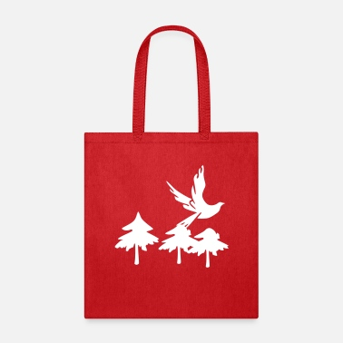 Dove Of Peace 3 gren christmas tree - Tote Bag
