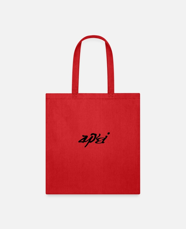 Symbol  Bags & Backpacks - LOGO ZUPKEI - Tote Bag red