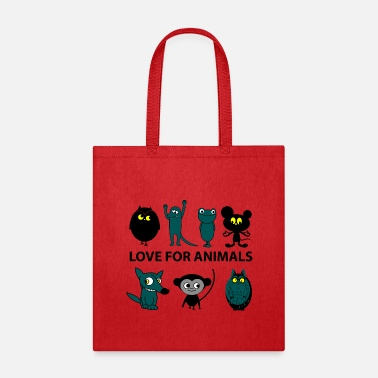 Animal Love for animals - Tote Bag