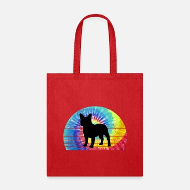 French Bulldog Tie Dye - Tote Bag