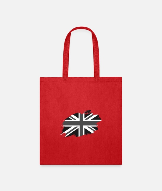Great Britain Bags & Backpacks - Great Britain British flag banner Union Jack - Tote Bag red
