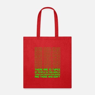 Computer Science Computer Science Binary Code Coding Programming - Tote Bag