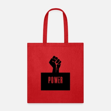 Black Power Raised Fist - Tote Bag