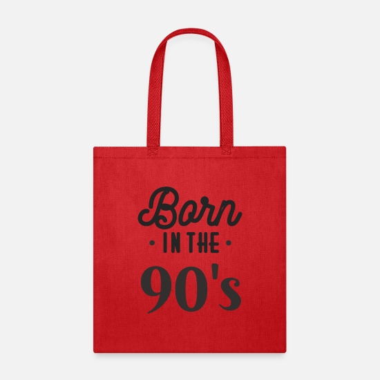 Born in the 90\'s Birthday Quote Sayings Slogan Tote Bag ...