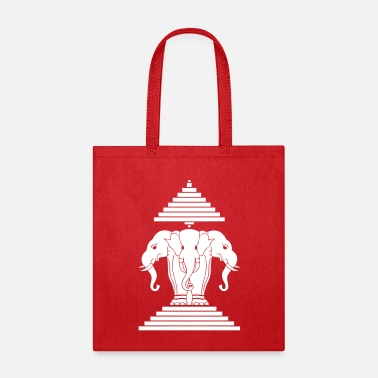Thai Erawan Lao / Laos Flag - Tote Bag