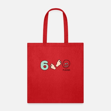Feet Six Feet Please - Tote Bag
