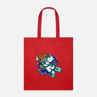 Greater Dog Galaxy Universum - Tote Bag