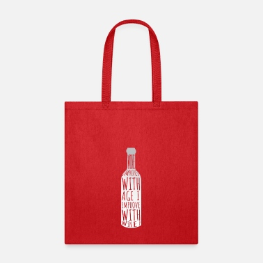 Drink Wine Drinking Wine - Tote Bag