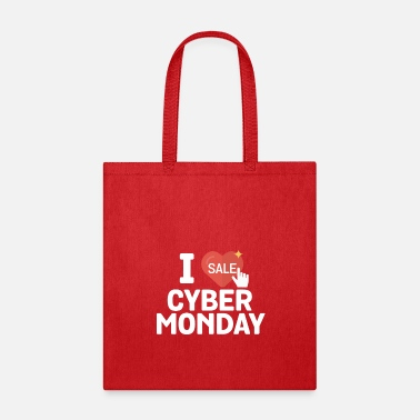 Monday I Love Sale Cyber Monday Online Shopper - Tote Bag