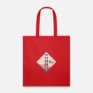 Gate Golden Gate - San Francisco - Tote Bag