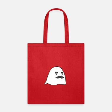 Cool-cute-stylish-mustaches Herbert The Ghost - Tote Bag
