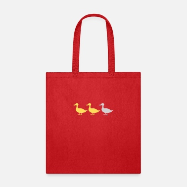 Duck Duck Duck Grey Duck - Tote Bag