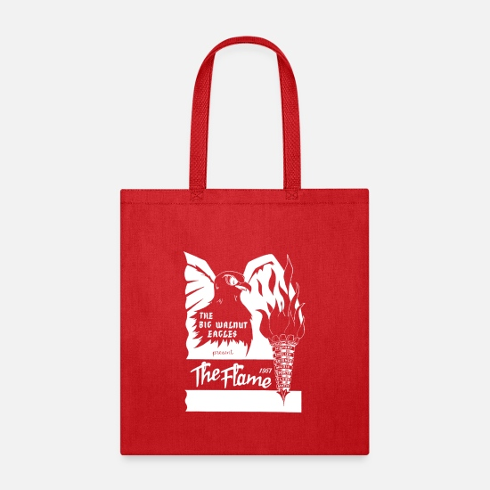 Retro Bags & Backpacks - The Flame: 1957 - Tote Bag red