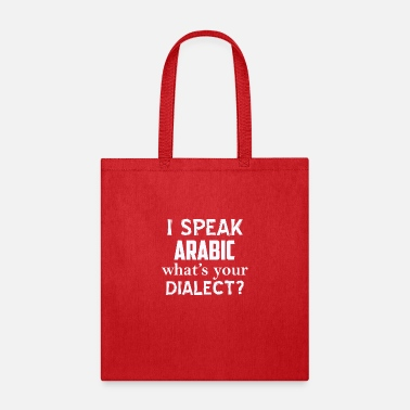 Dialect Arabic dialect - Tote Bag