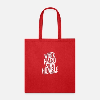 Workhorse Work Hard Typography - Tote Bag