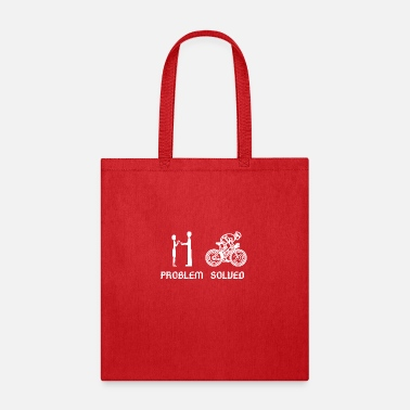 Cyclist Problem solved, perfect gift for a cyclist! - Tote Bag