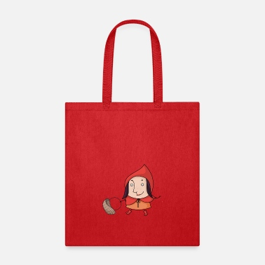 Fairy Tale Figure red fairy tale - Tote Bag