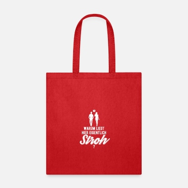Why is here straw gift idea - Tote Bag