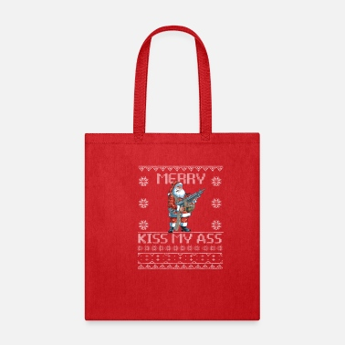 Gunthemeduglychristmassweater GUN Themed Ugly Christmas Sweater - Tote Bag