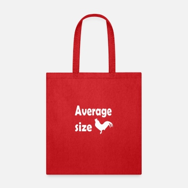 Average Size Funny Humor Geek - Tote Bag