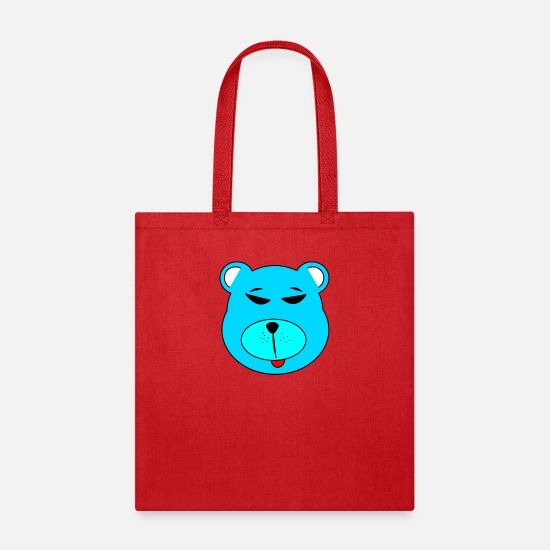 Grizzly Bags & Backpacks - polar bear eisbaer nordpol north pole alaska1 - Tote Bag red
