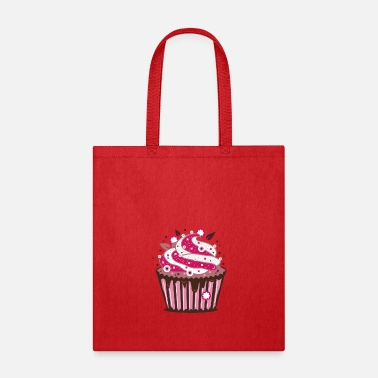 Cupcake A cupcake with frosting - Tote Bag