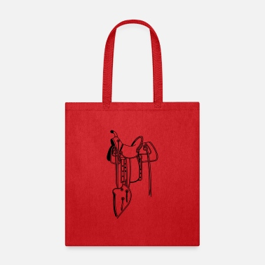 Saddle Cowboy saddle - Tote Bag