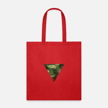 Easy Going Fashion Camouflage pattern motif triangle - Tote Bag