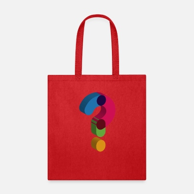Mark Something question mark sign - Tote Bag