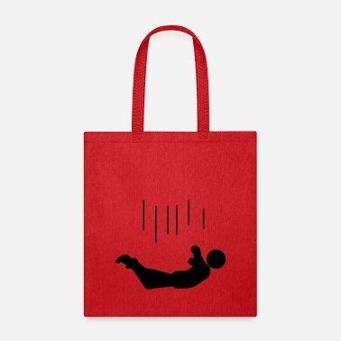 Witty falling - Tote Bag