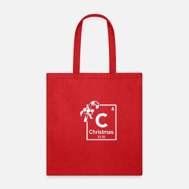 Christmas Periodic Table Of Elements - Tote Bag