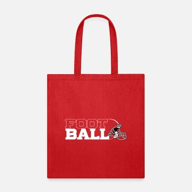 Physical Condition Football in Black - Tote Bag
