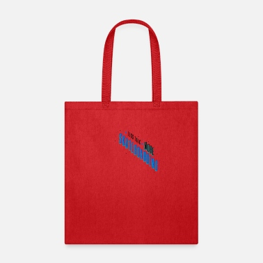 Skate Less Talk More Skateboarding Quote Skater - Tote Bag