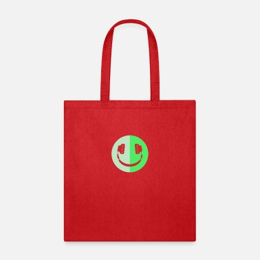 Smiley Headphones Headphone Smiley Logo - Tote Bag