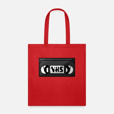 Vhs Tapes Pixel VHS Tape - Tote Bag